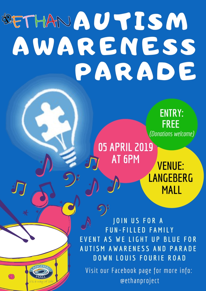 Autism Awareness Parade Poster